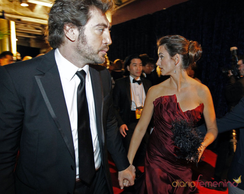 Penélope Cruz y Javier Bardem juntos en los Oscars 2010