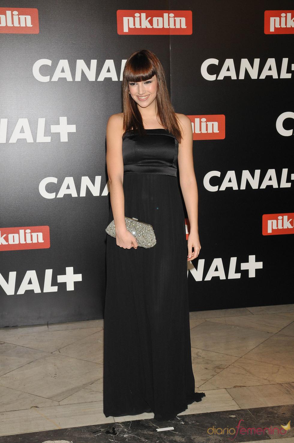 Úrsula Corberó en la Fiesta de los Oscar 2010 de Canal+