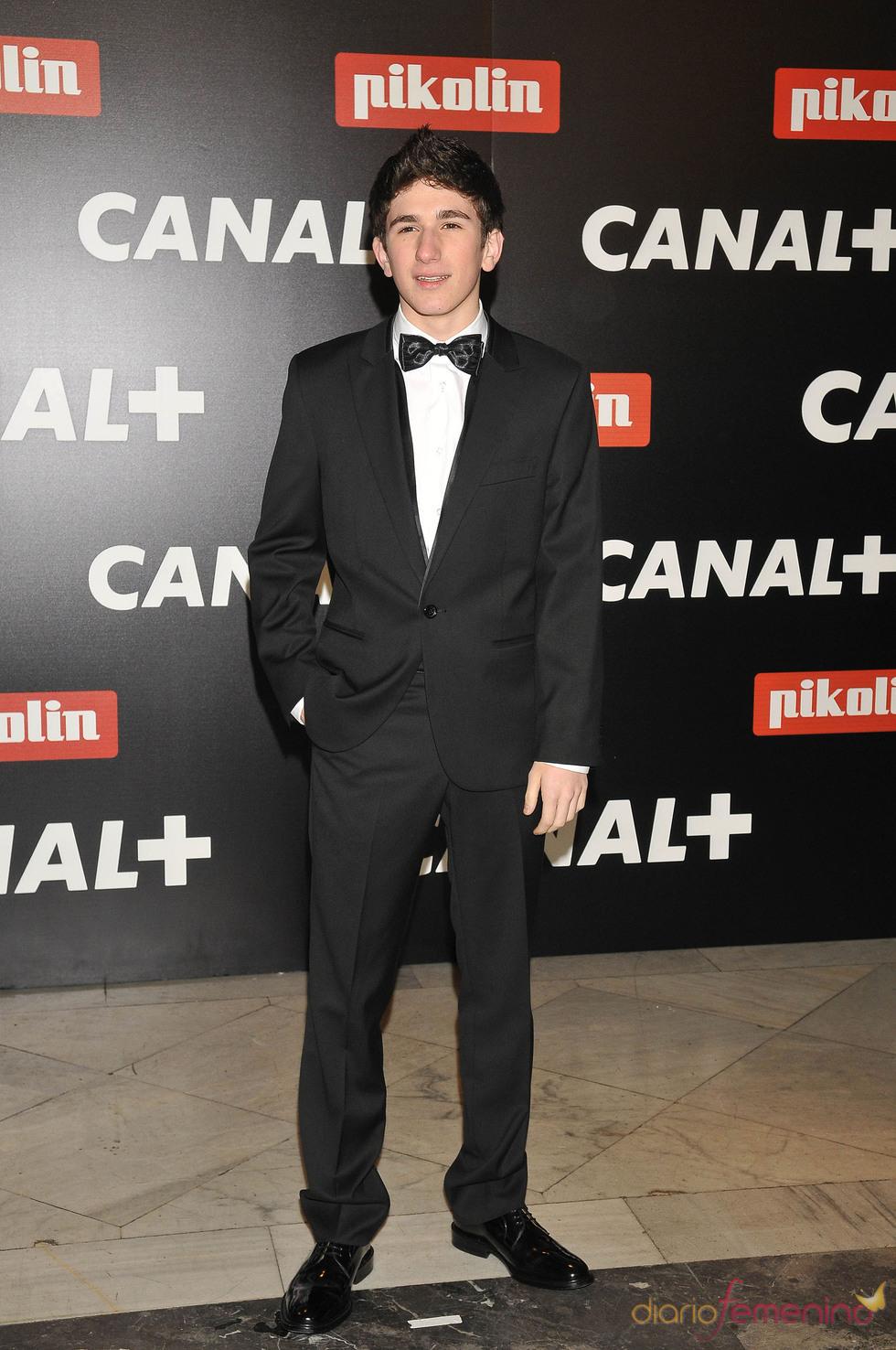 David Castillo en la Fiesta de los Oscars 2010 de Canal+