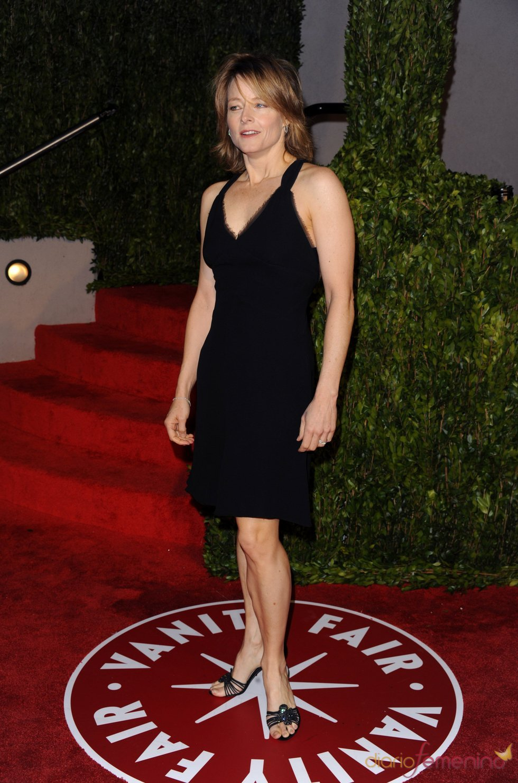 Jodie Foster en la fiesta Vanity Fair Oscar 2010