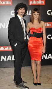 Antonio Pagudo y Macarena Gómez en la Fiesta de Canal+ de los Oscars 2010