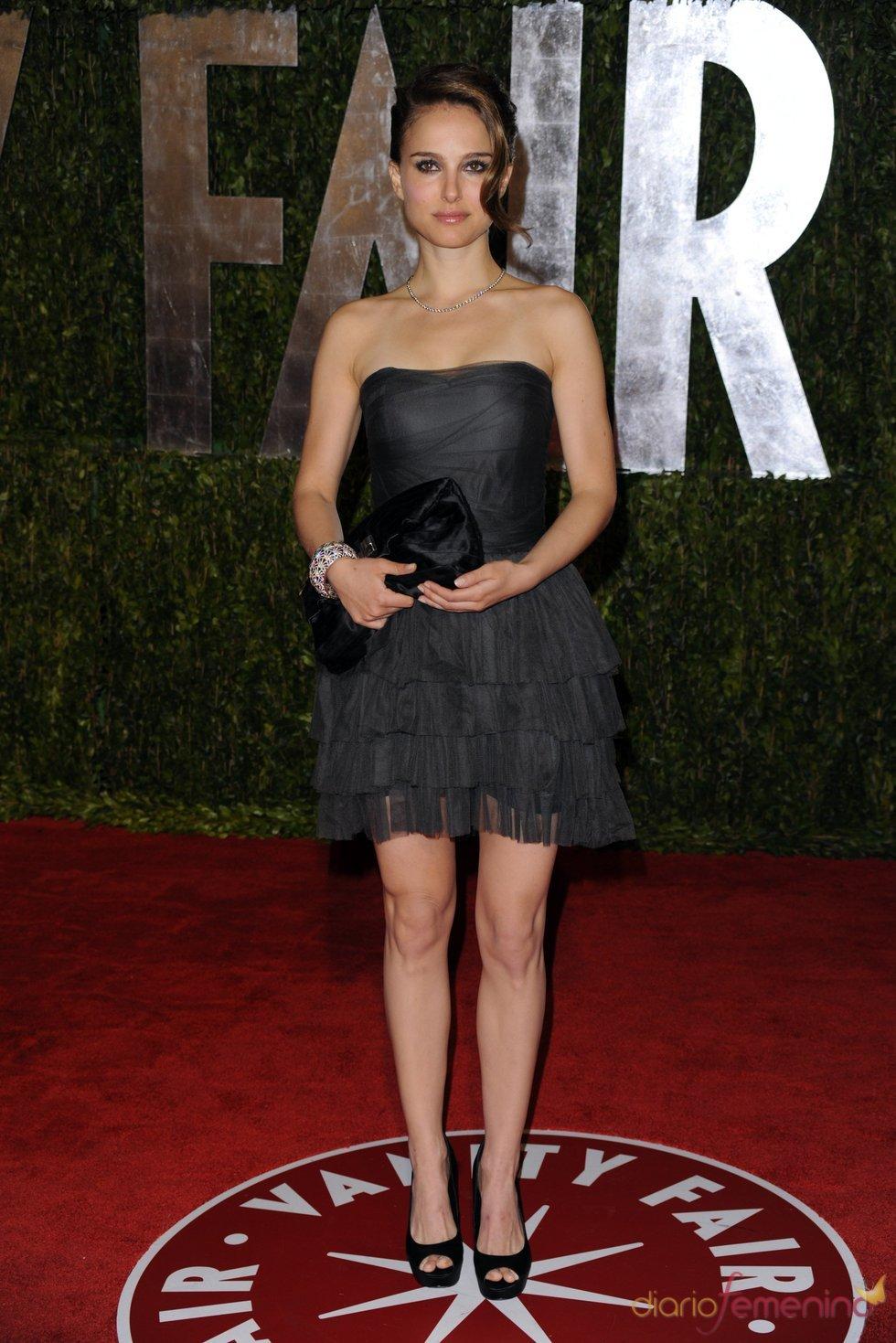 Natalie Portman en la fiesta Vanity Fair Oscar 2010