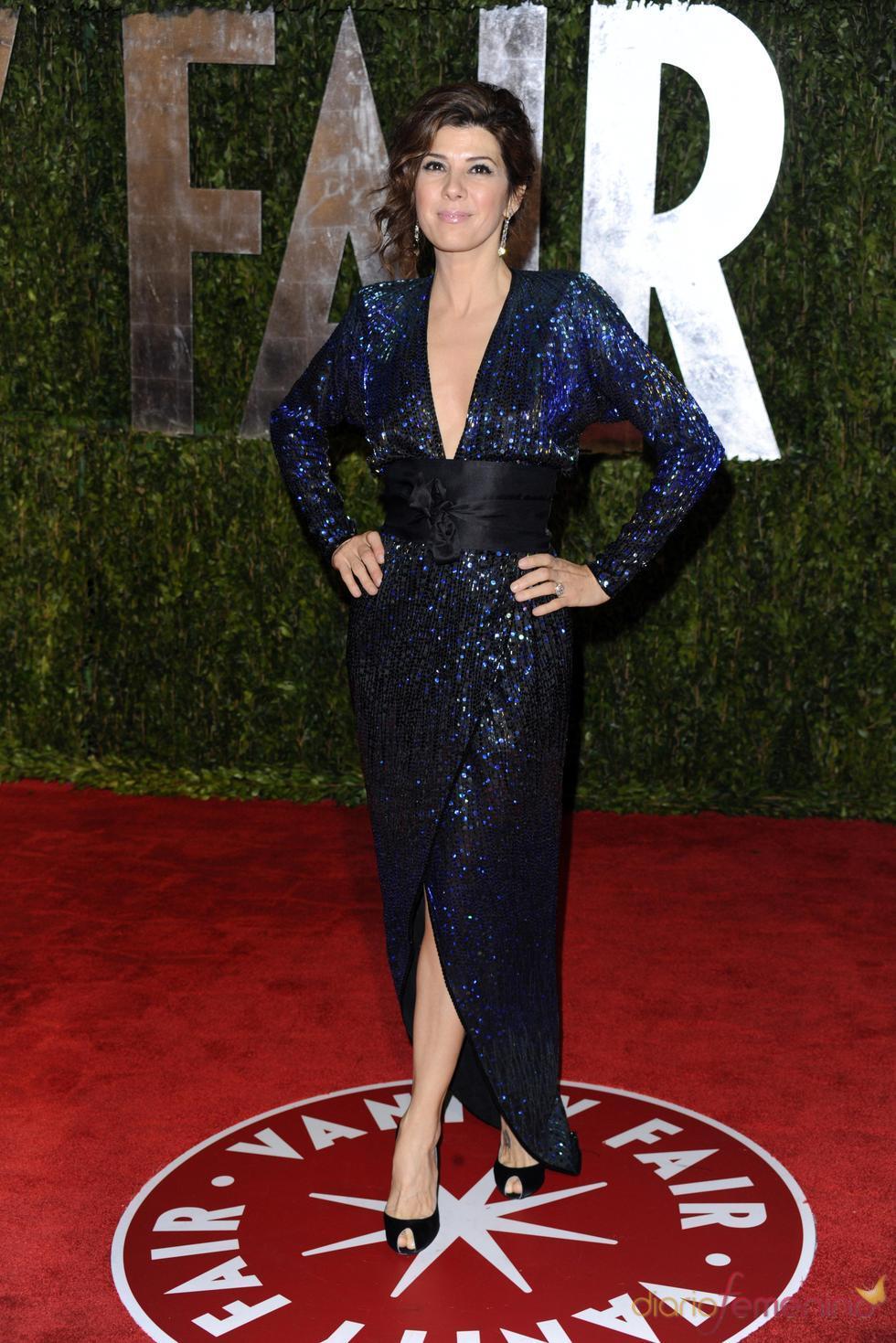 Marisa Tomei en la fiesta Vanity Fair Oscar 2010