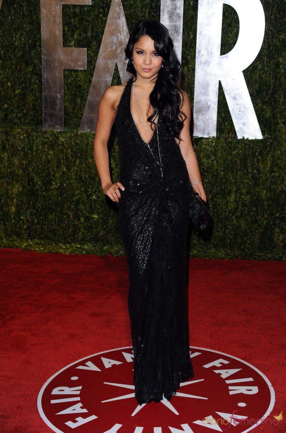 Vanessa Hudgens en la fiesta Vanity Fair Oscar 2010