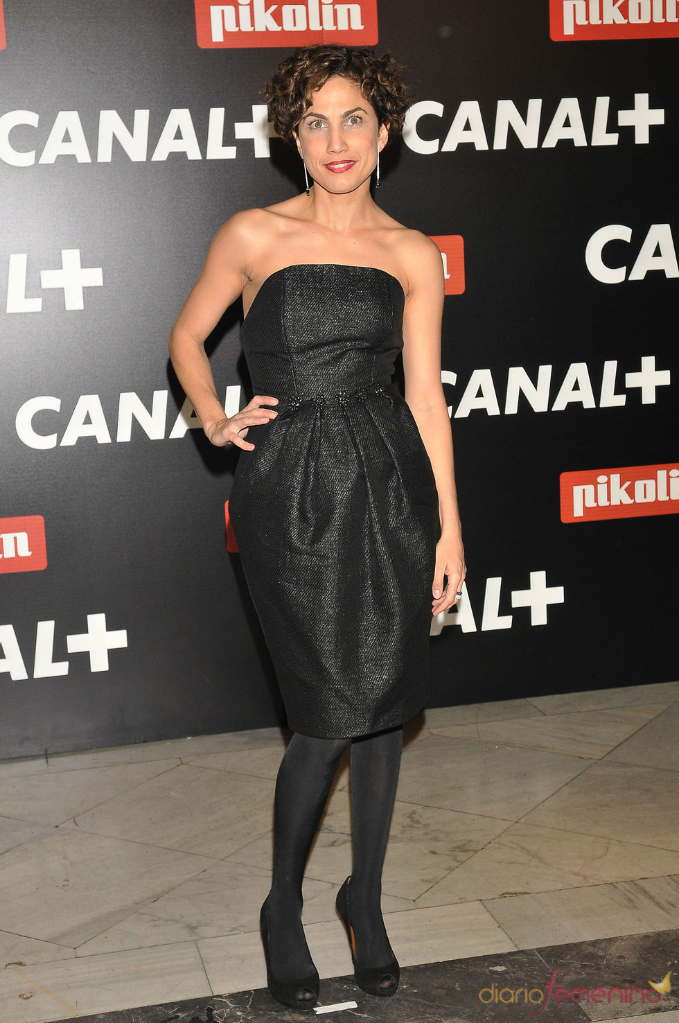 Toni Acosta en la Fiesta de los Oscars 2010 de Canal+