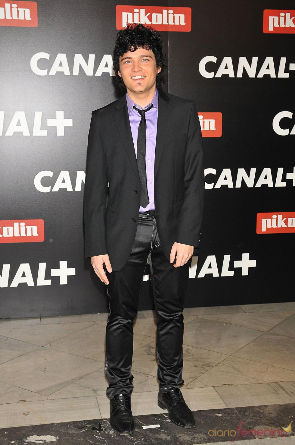 Adam Jeziersky en la Fiesta de los Oscars 2010 de Canal+