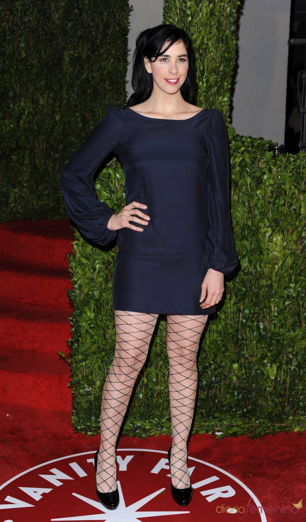 Sarah Silverman en la fiesta Vanity Fair Oscar 2010