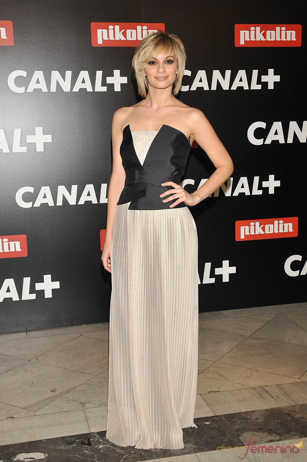 Norma Ruiz en la Fiesta de los Oscars 2010 de Canal+