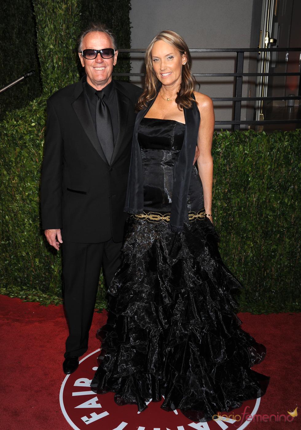 Peter Fonda, en la fiesta Vanity Fair Oscar 2010