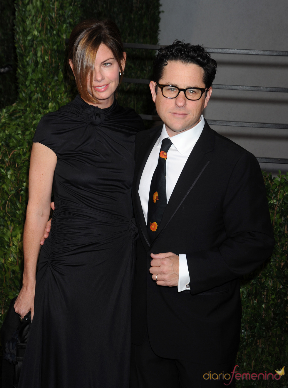 J.J. Abrams y su mujer en la fiesta Vanity Fair Oscar 2010