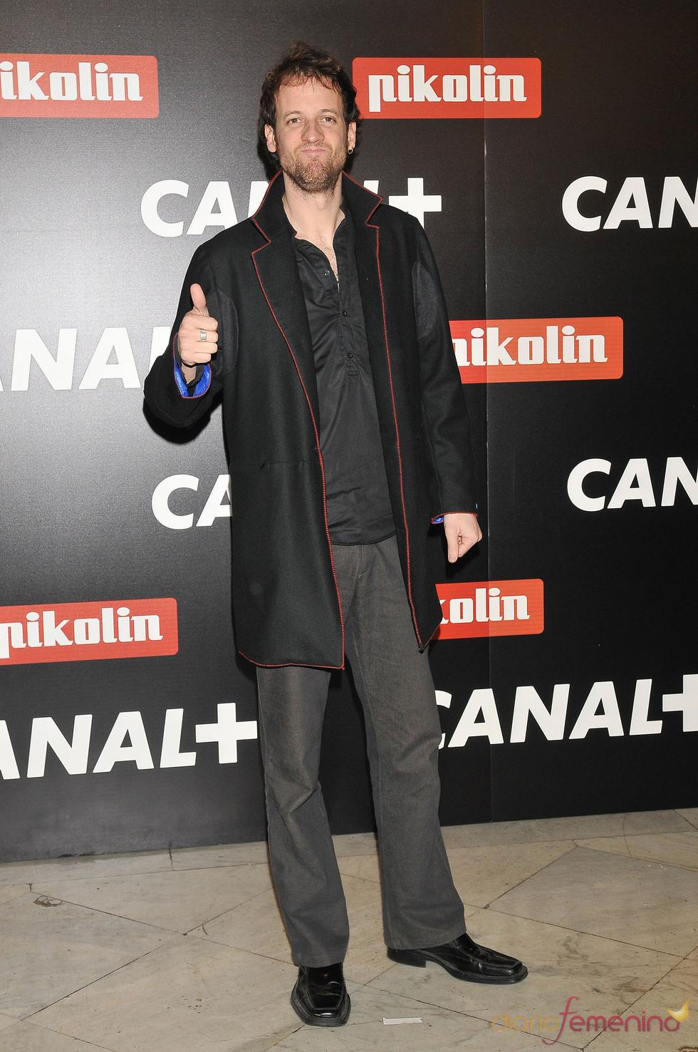 Edu Soto en la Fiesta de los Oscars 2010 de Canal+
