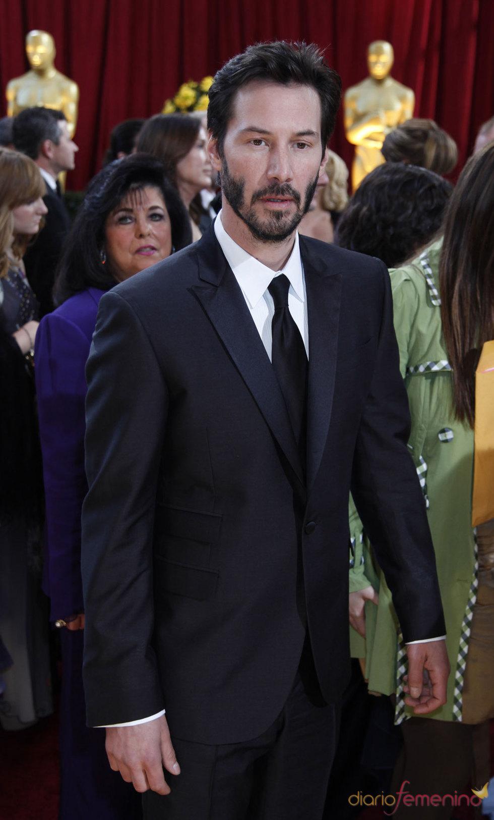 Keanu Reeves en los Oscars 2010