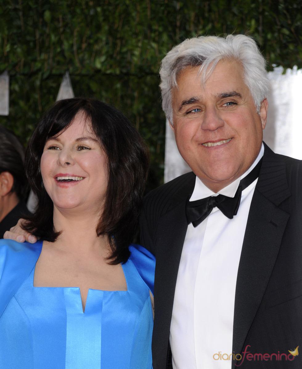 Jay Leno y su mujer en la fiesta Vanity Fair Oscar 2010