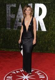 Hilary Swank en la fiesta Vanity Fair Oscar 2010