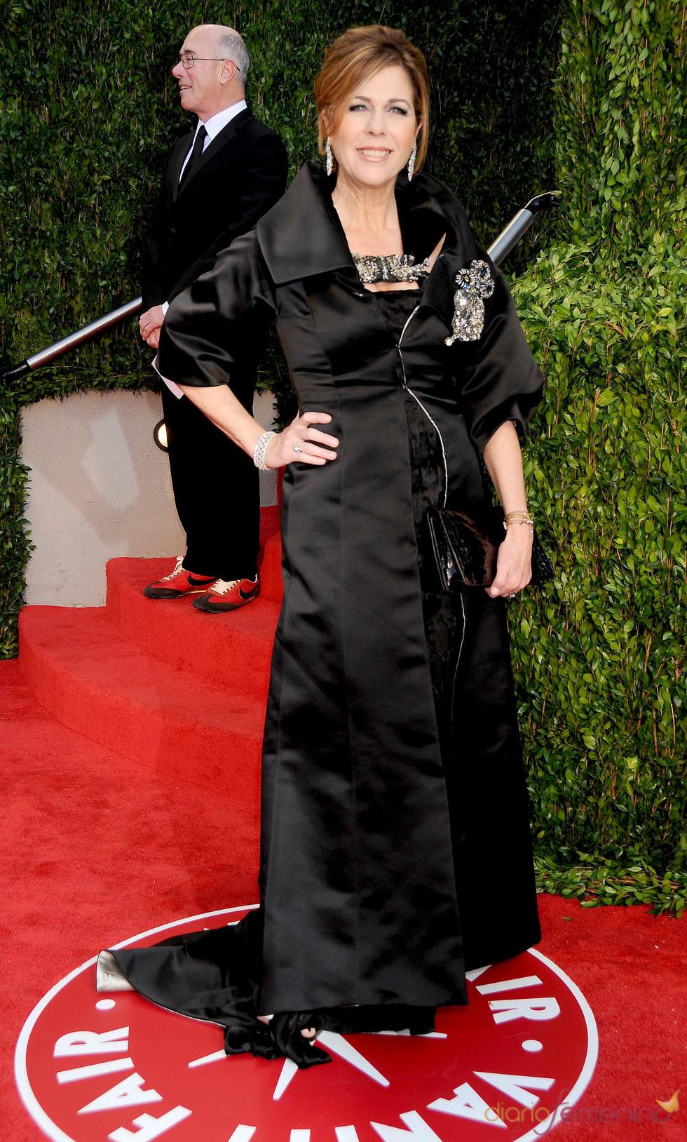 Rita Wilson en la fiesta Vanity Fair Oscar 2010