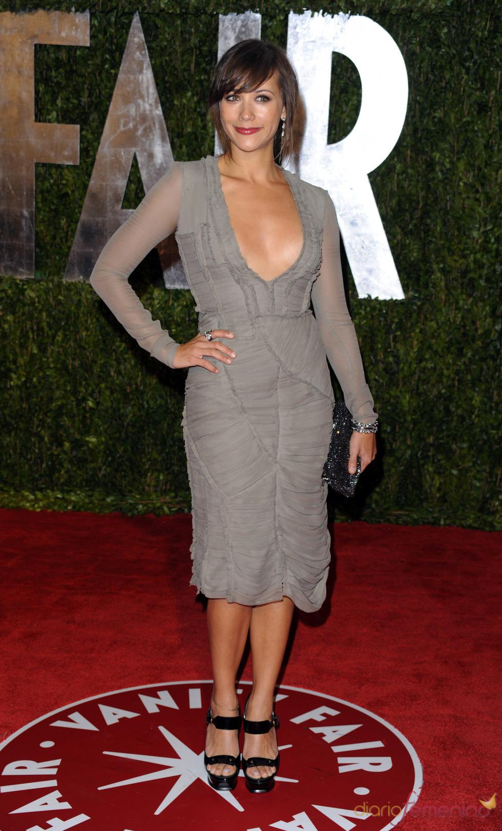 Rashida Jones en la fiesta Vanity Fair Oscar 2010