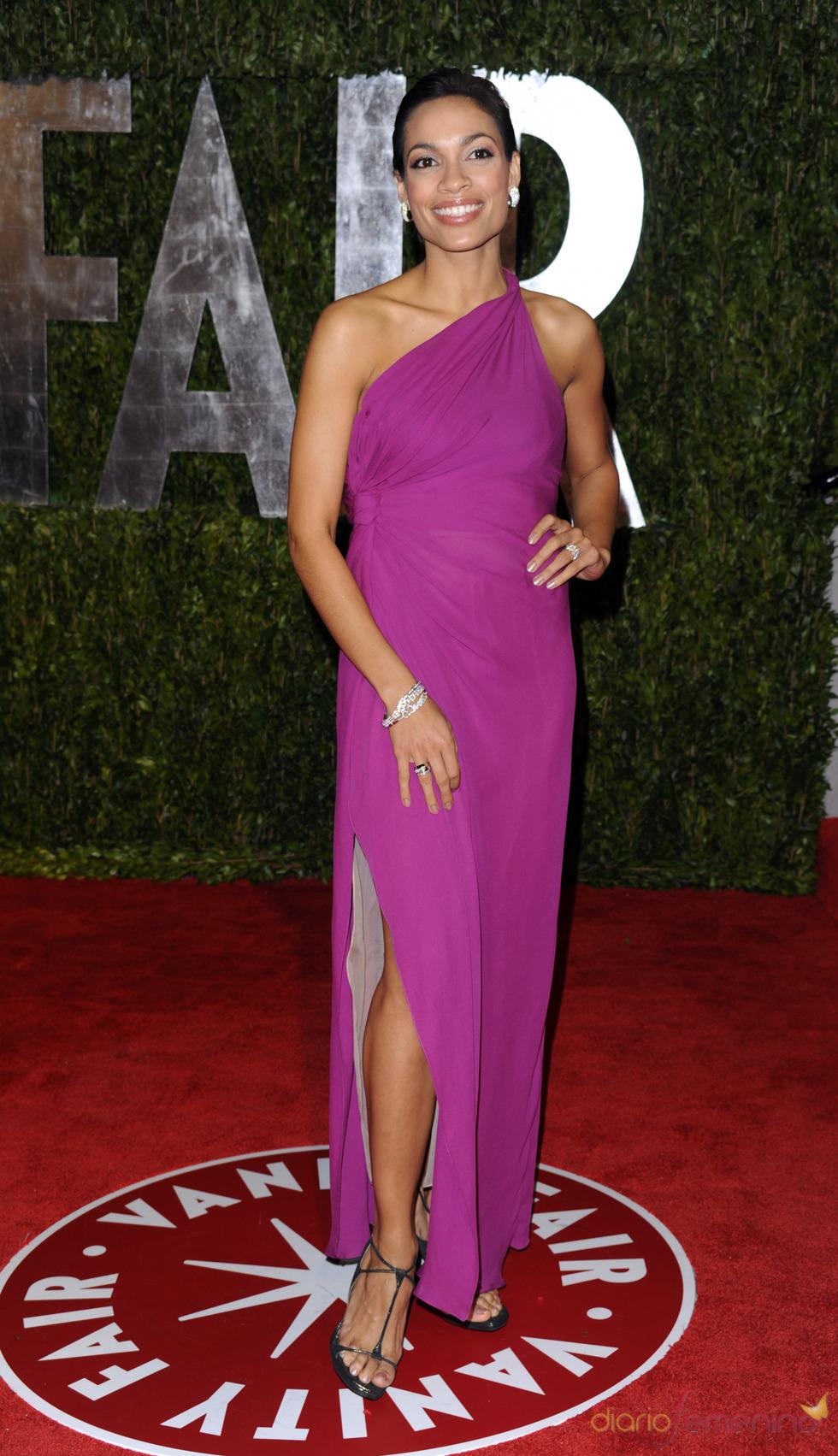 Rosario Dawson en la fiesta Vanity Fair Oscar 2010