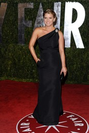 Jessica Simpson en la fiesta Vanity Fair Oscar 2010