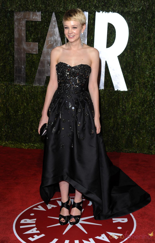 Carey Mulligan en la fiesta Vanity Fair Oscar 2010