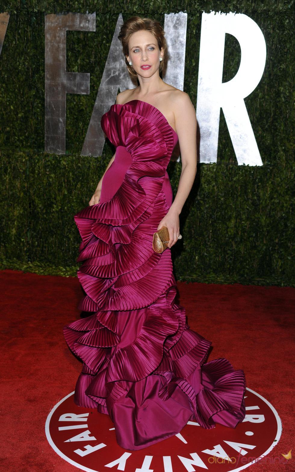 Vera Farmiga en la fiesta Vanity Fair Oscar 2010