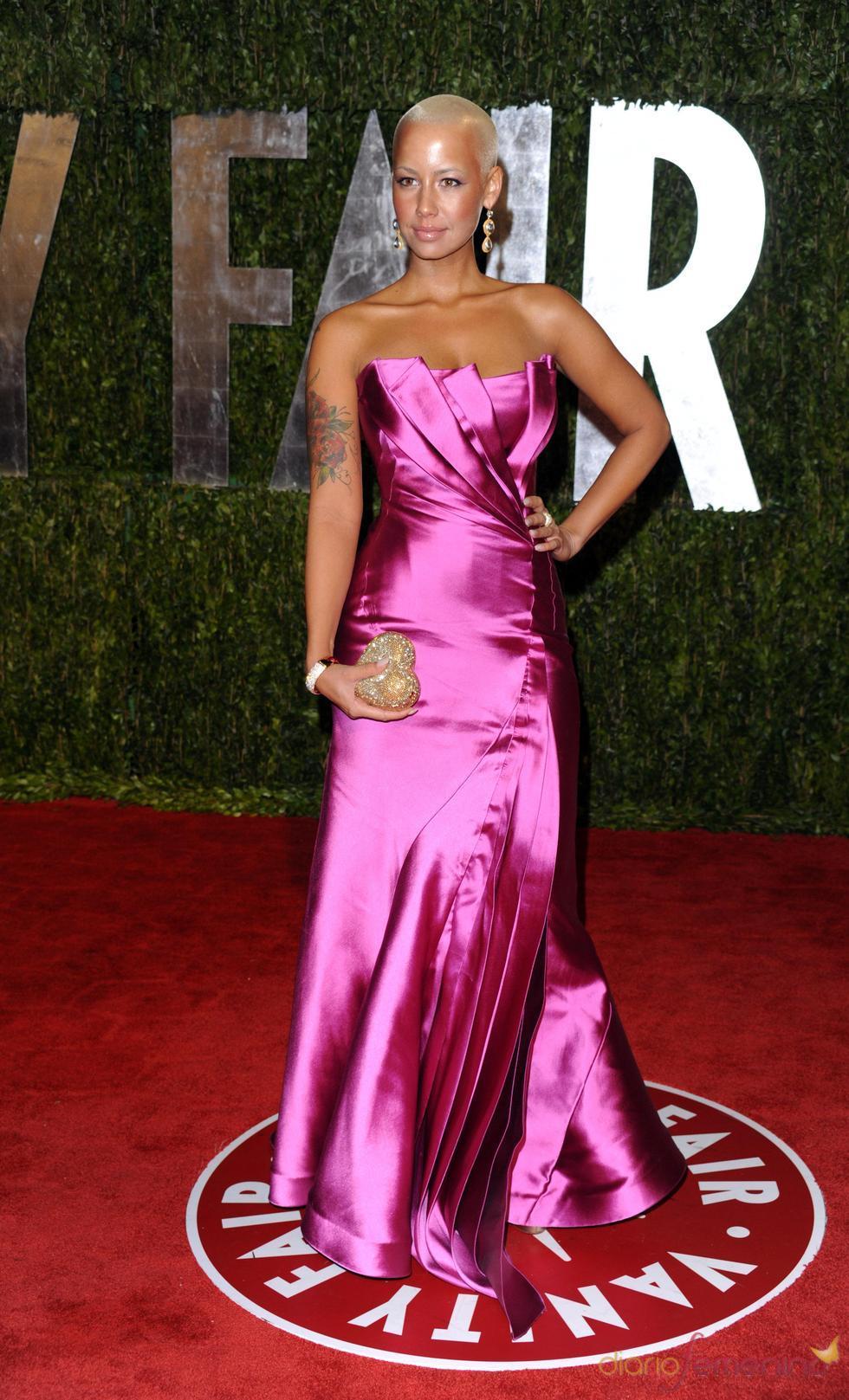 Amber Rose en la fiesta Vanity Fair Oscar 2010