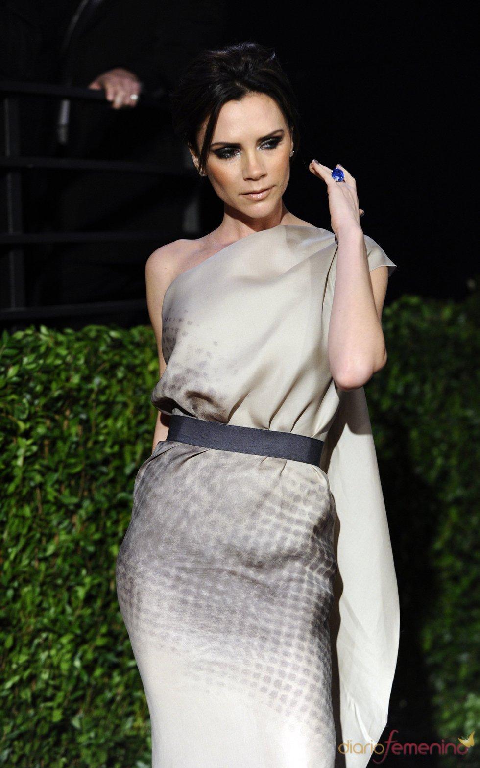 Victoria Beckham en la fiesta Vanity Fair Oscar 2010