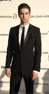 Chace Crawford en la fiesta Elton John Oscar 2010