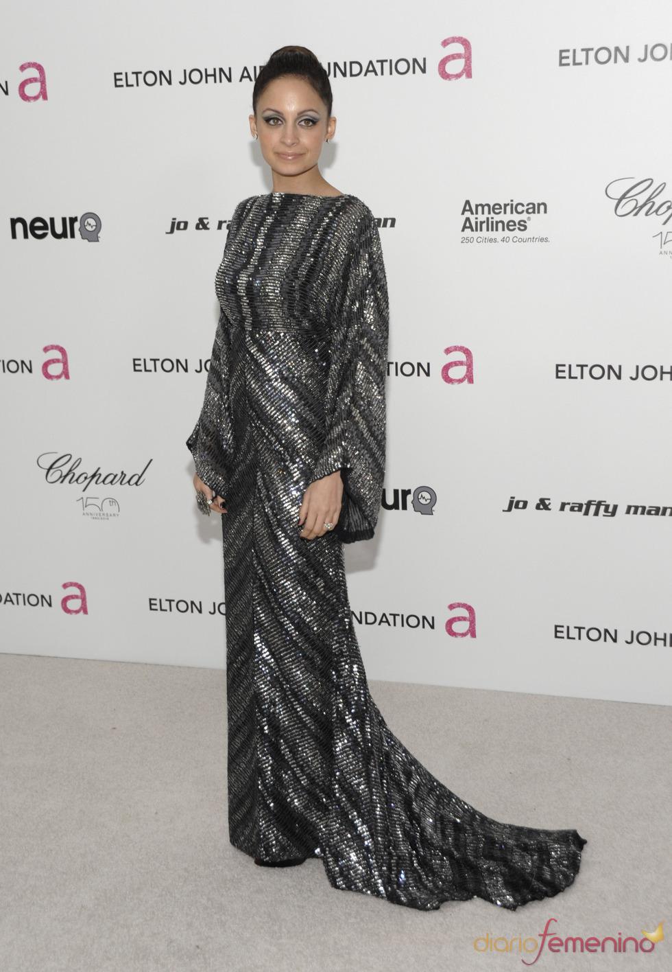 Nicole Richie en la fiesta Elton John Oscar 2010