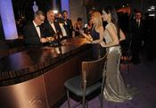 Sandra Bullock en el baile Governors Ball, tras los Oscar 2010