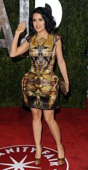 Salma Hayek en la fiesta Vanity Fair Oscar 2010