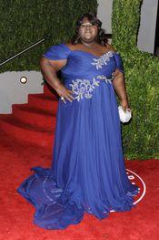 Gabourey Sidibe en la fiesta Vanity Fair Oscar 2010