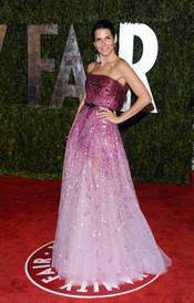 Angie Harmon en la fiesta Vanity Fair Oscar 2010