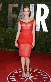 Diane Kruger en la fiesta Vanity Fair Oscar 2010