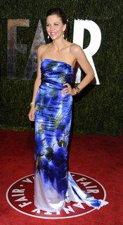 Maggie Gyllenhaal  en la fiesta Vanity Fair Oscar 2010
