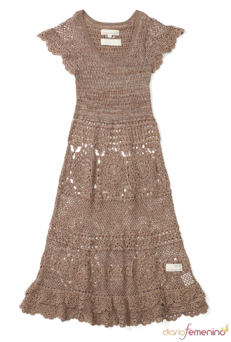 Vestido marrón de Odd Molly