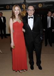 Heather Graham y Kevin Spacey en los Governors Awards 2010