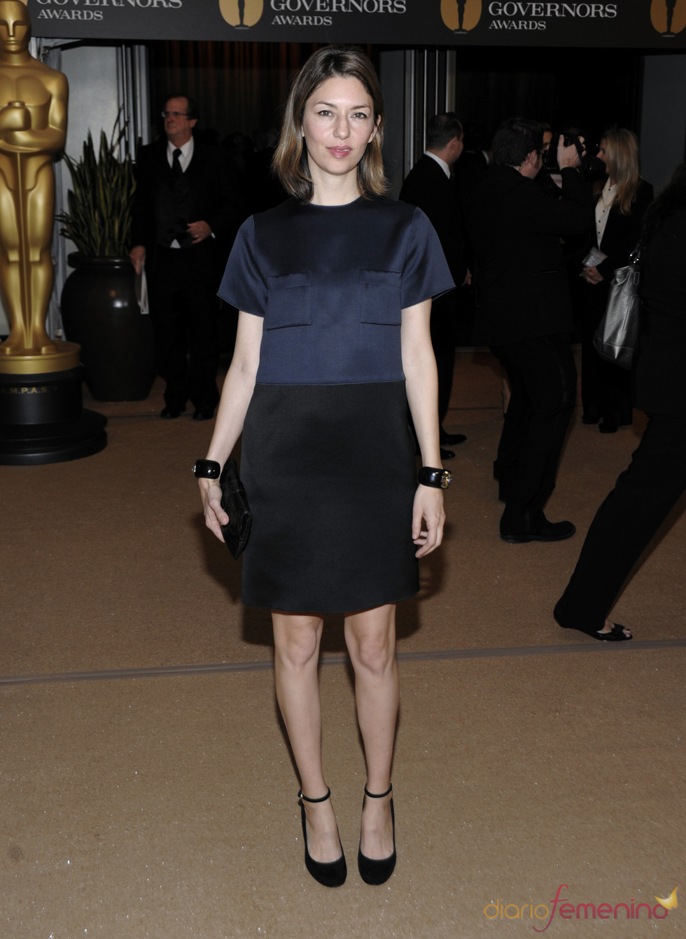 Sofia Coppola en la ceremonia de los Governors Awards 2010