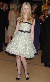 Elle Fanning en los Governors Awards 2010