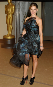 Hillary Swank en los Governors Awards 2010