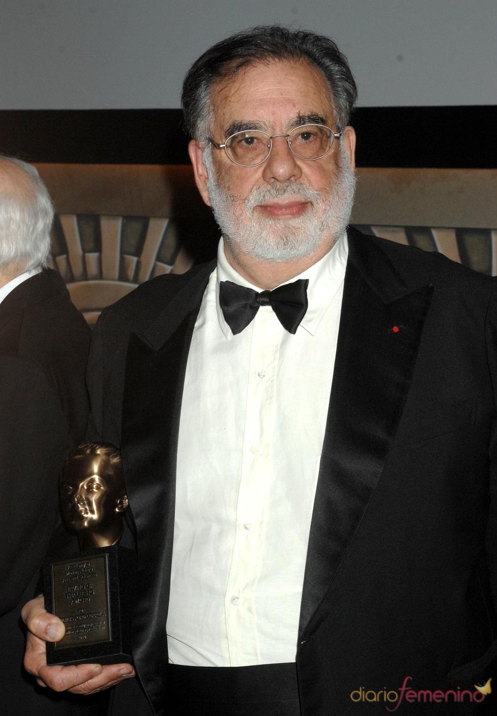 El galardonado Francis Ford Coppola en los Governors Awards 2010
