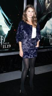Keri Russell en el estreno de 'Harry Potter y las reliquias de la muerte'