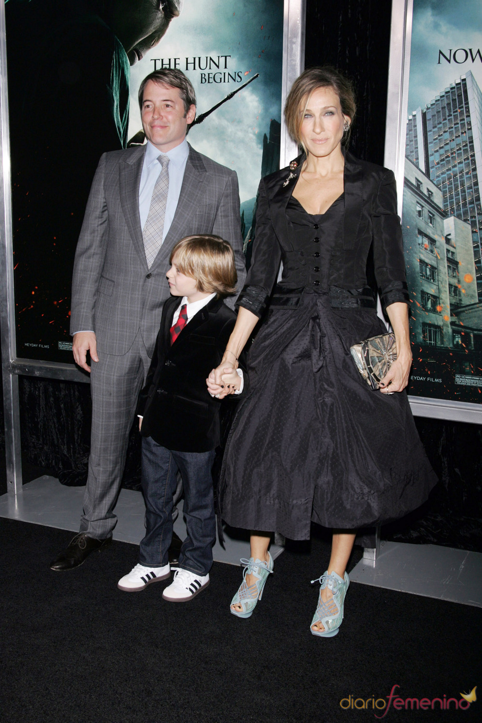 Sarah Jessica Parker, Matthew Broderick e hijo, de estreno en Nueva York
