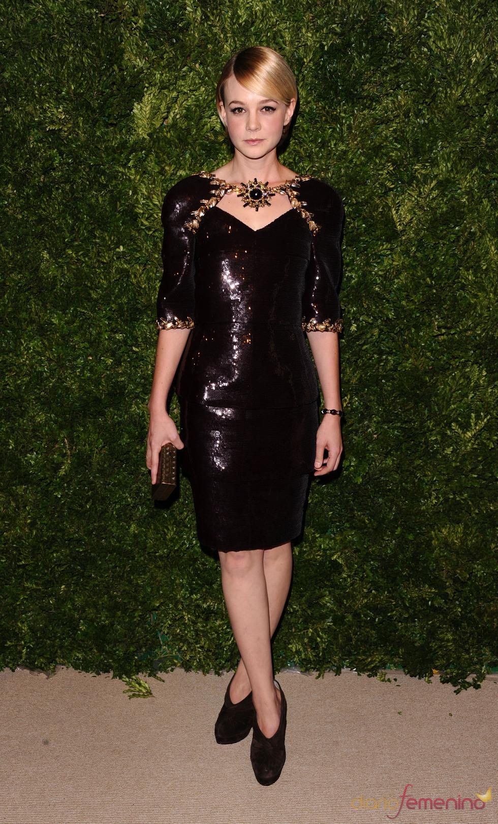 Carey Mulligan en los Premios Vogue Fashion Fund 2010
