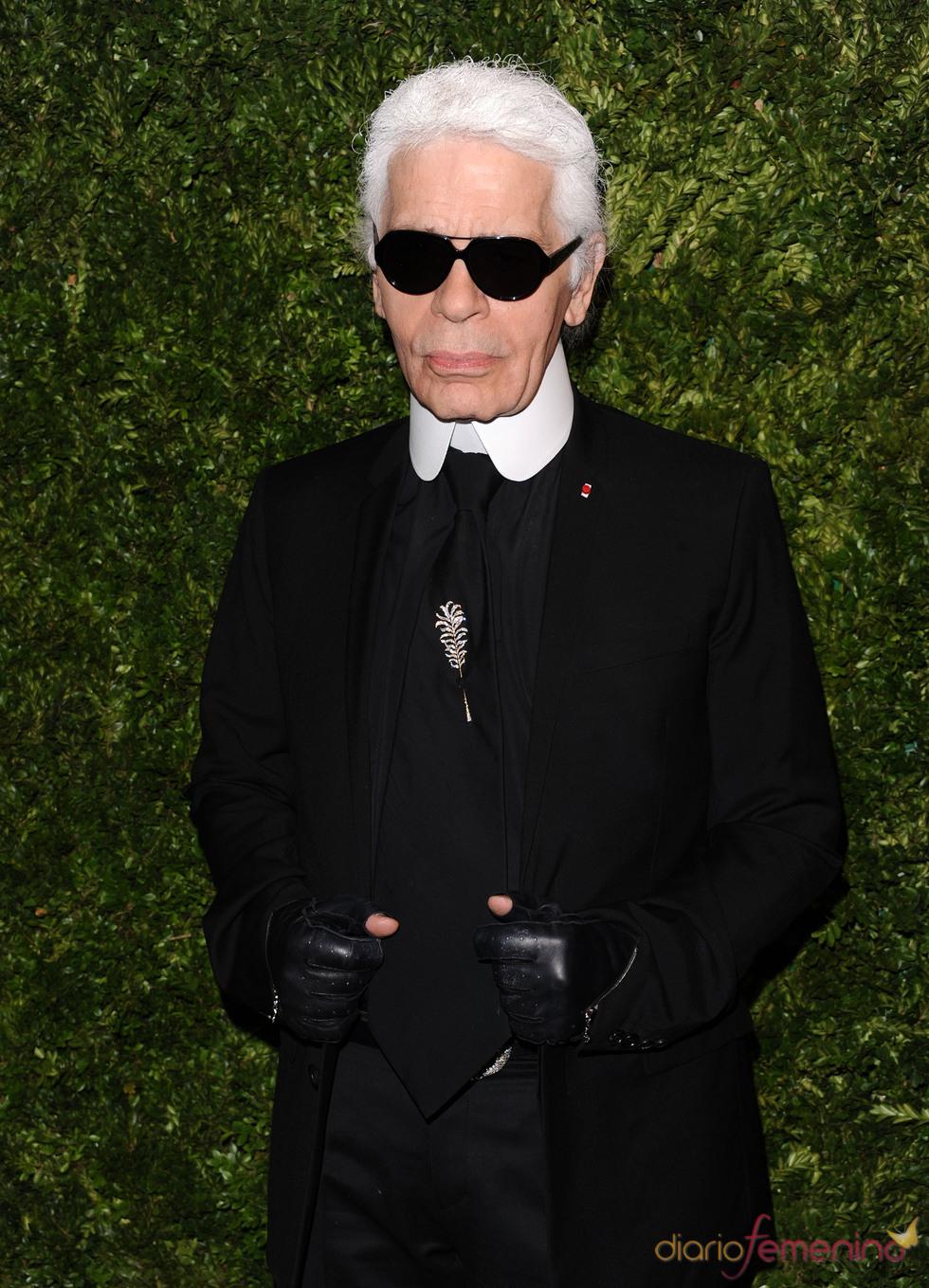 Karl Lagerfeld en los Premios Vogue Fashion Fund 2010