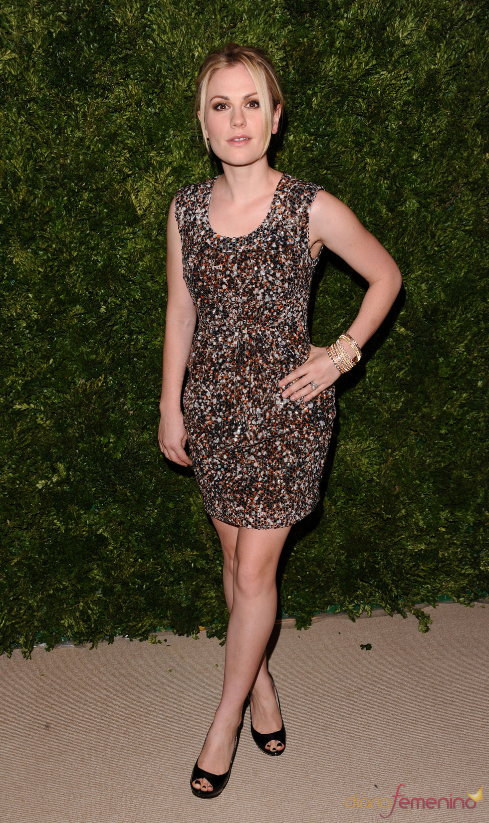 Premios Vogue Fashion Fund 2010 con Anna Paquin