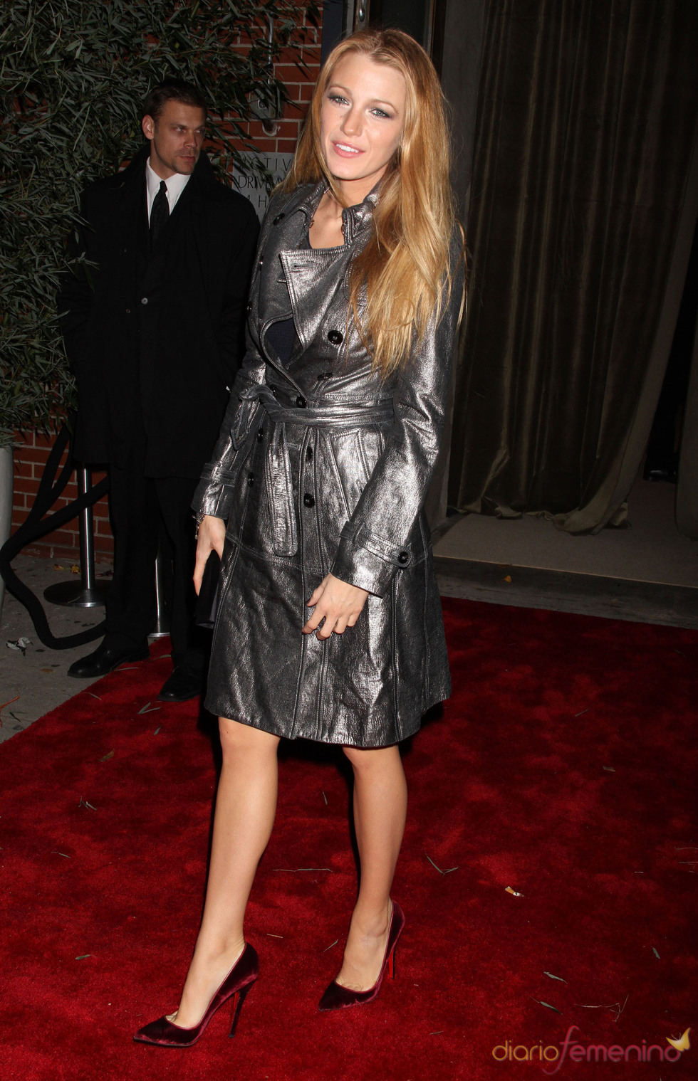 Blake Lively en los Premios Vogue Fashion Fund 2010