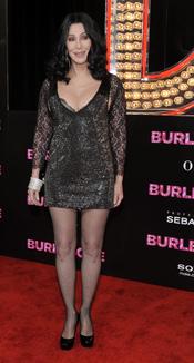 Cher en la premiere de 'Burlesque'