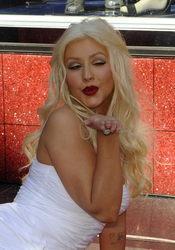 Christina Aguilera, una más en el Paseo de la Fama