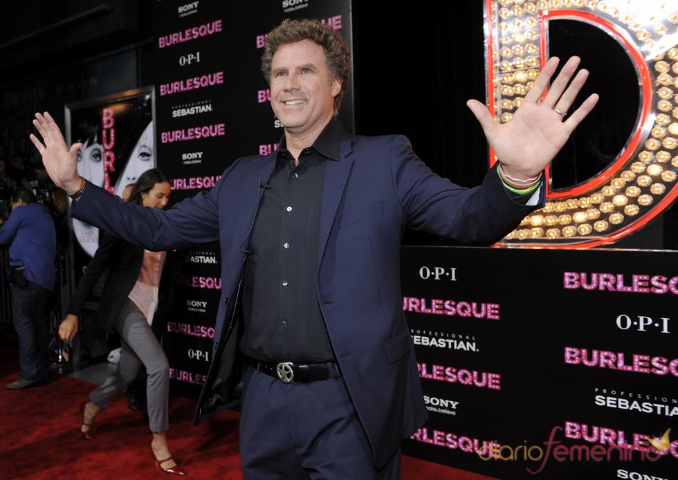 Will Ferrell en la premiere de 'Burlesque'