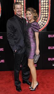 Eric Dane y Rebecca Gayheart en la premiere de 'Burlesque'